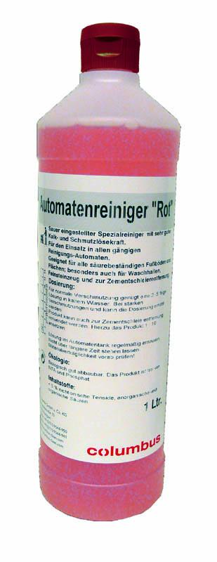Automatenreiniger rot (6x1 Liter)