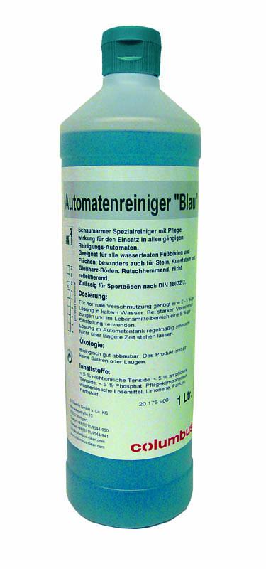 Automatenreiniger blau (6x1 Liter)