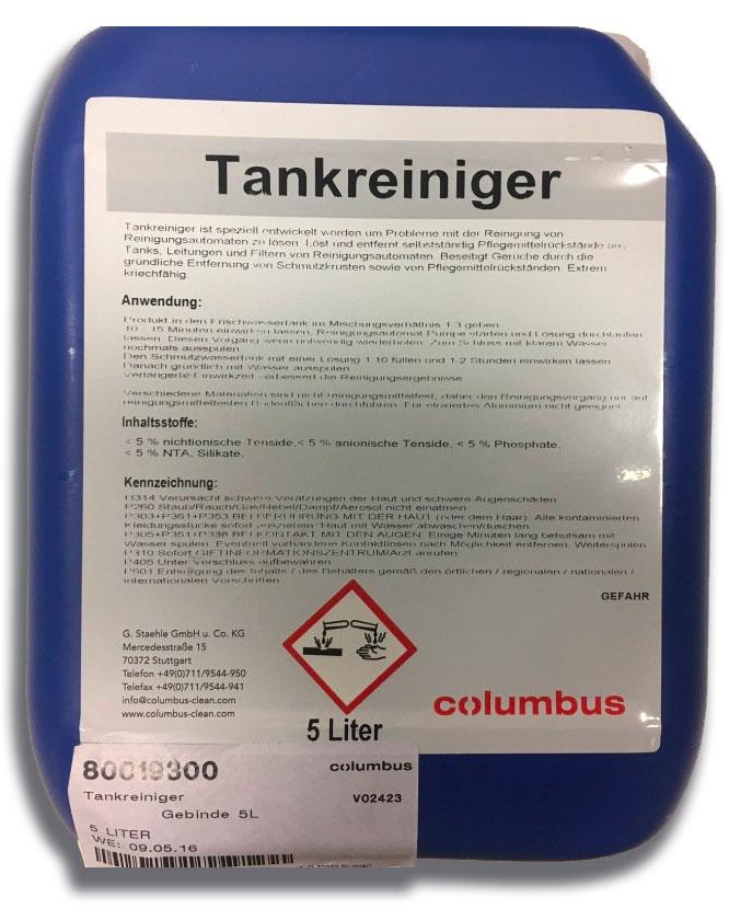 Columbus Tankreiniger (5 Liter Konzentrat)