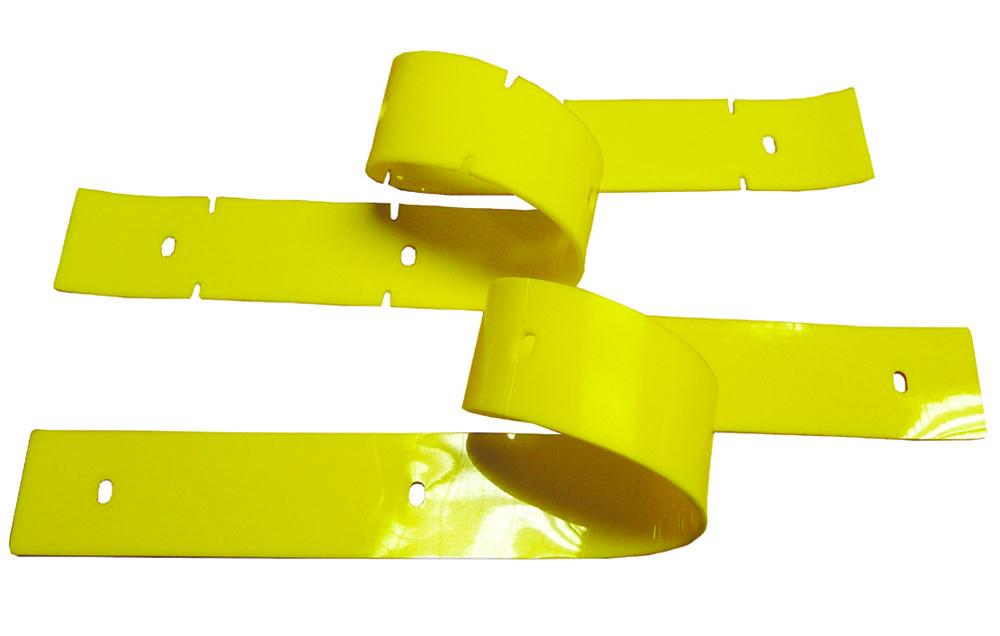 Satz Sauglippen RA 43 gelb (ölbeständig)